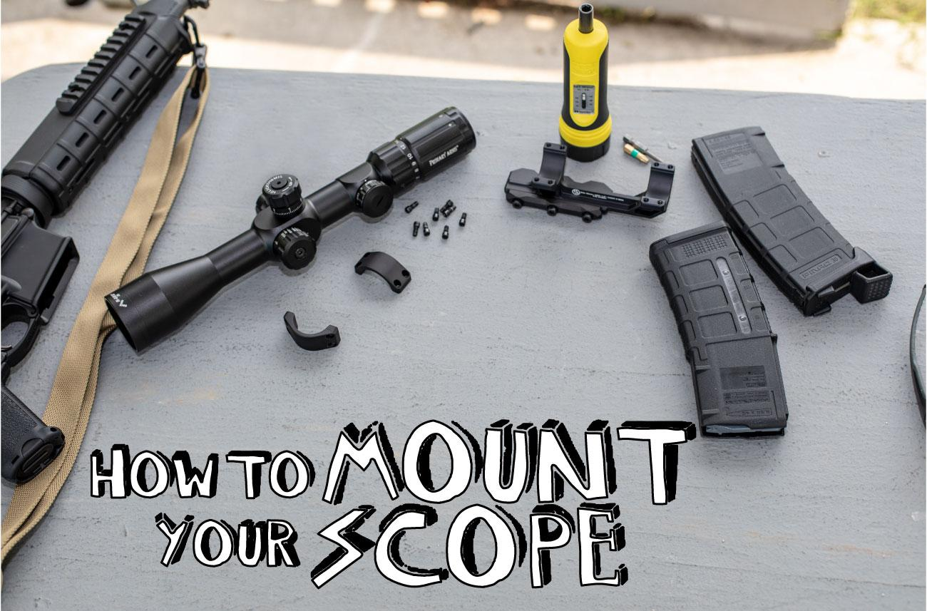 How To Mount a Scope [On Your AR-15]