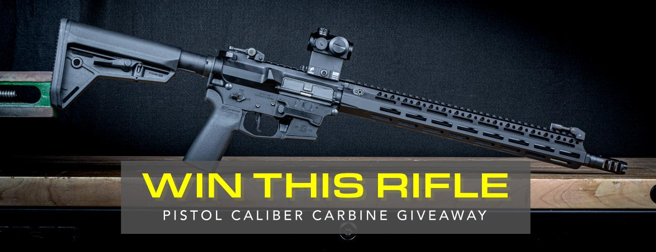 Win This Rifle Build! 9mm Pistol Caliber Carbine