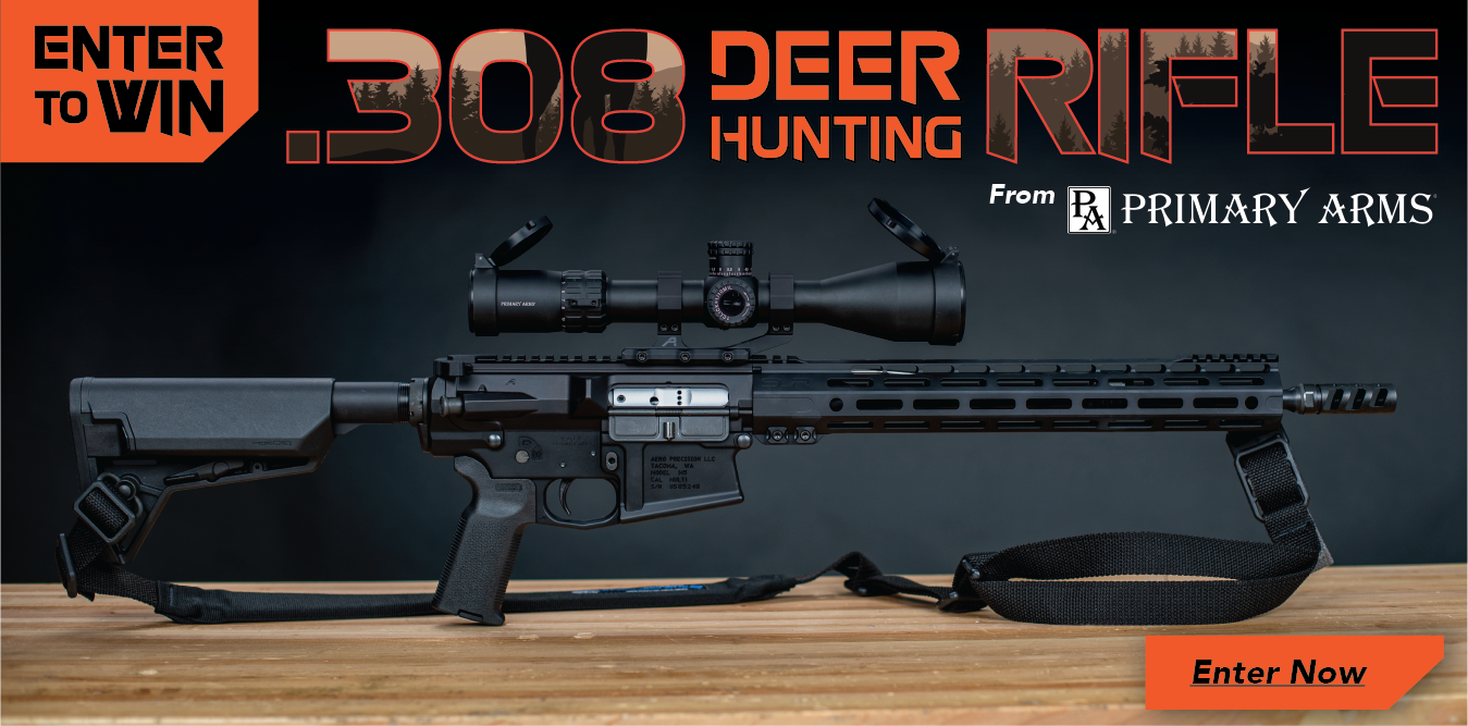 Win this rifle! .308 Deer Hunting Rifle Giveaway