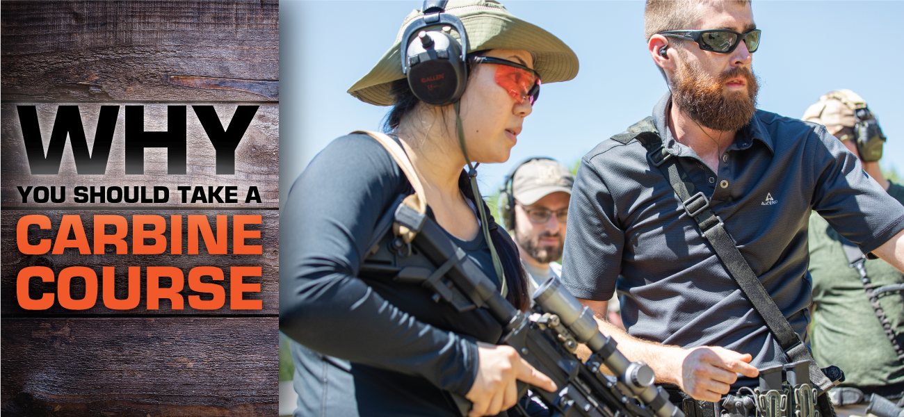 Why You Should Take a Carbine Course