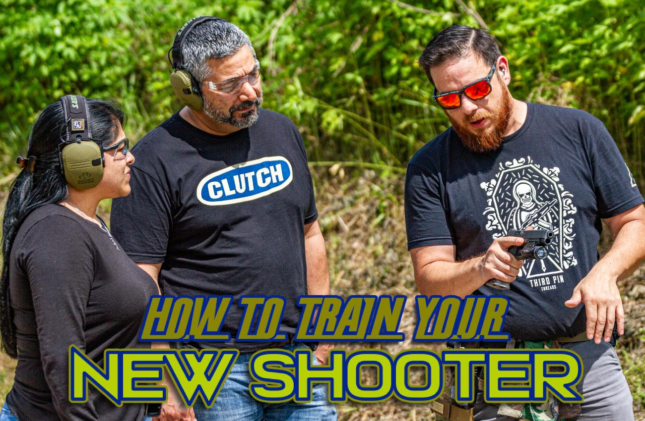 How to Train Your New Shooter