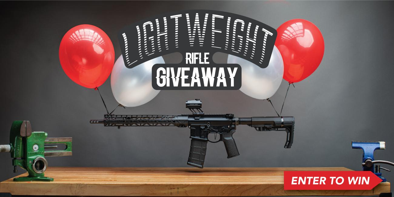 Win This Rifle Build! Lightweight AR15 Giveaway!