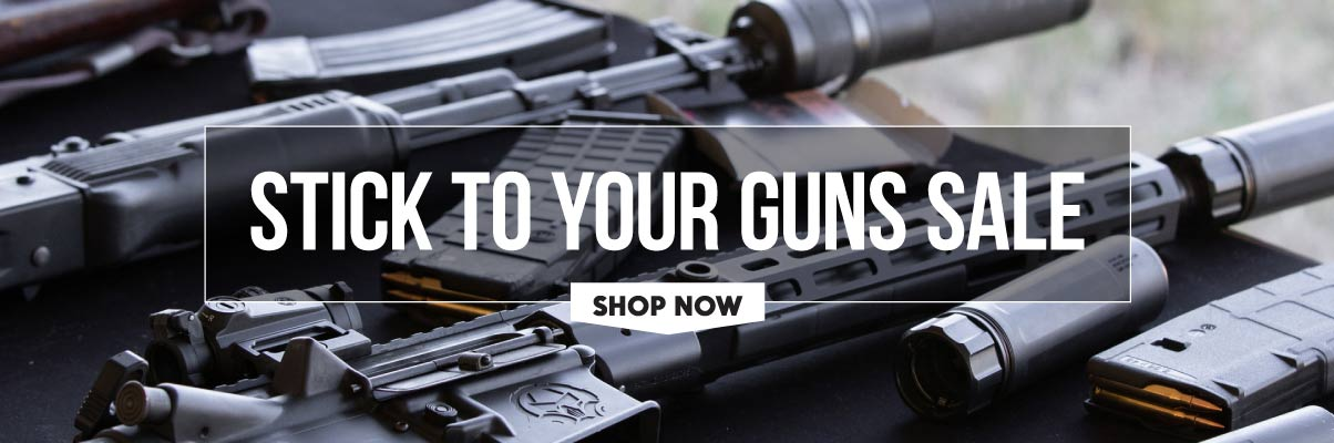 Stick to your Guns Sale