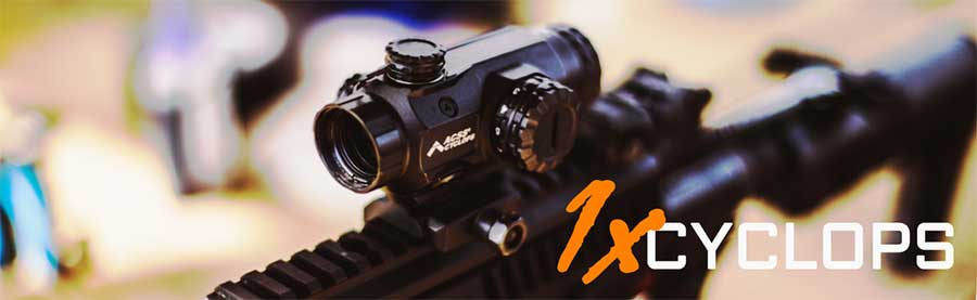 NEW! The PA 1X Cyclops Prism Scope   Primary Arms Blog