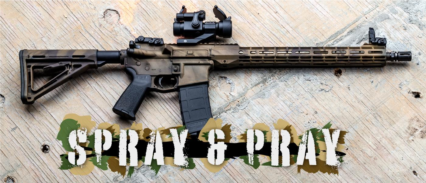 Spray & Pray: Custom Paint Your AR-15 For Under $15