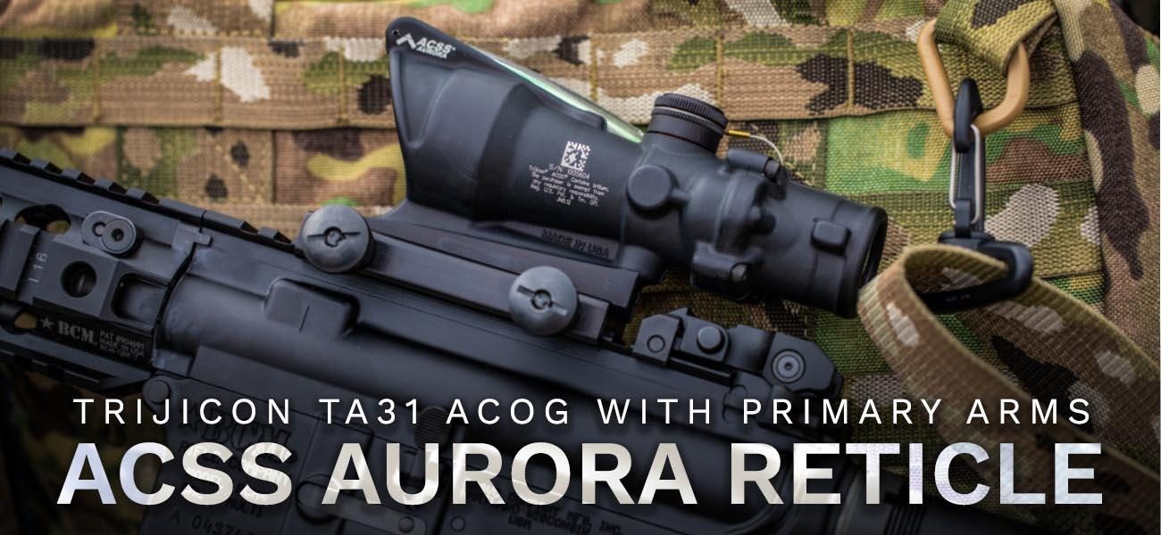 Introducing: the ACSS Aurora Reticle