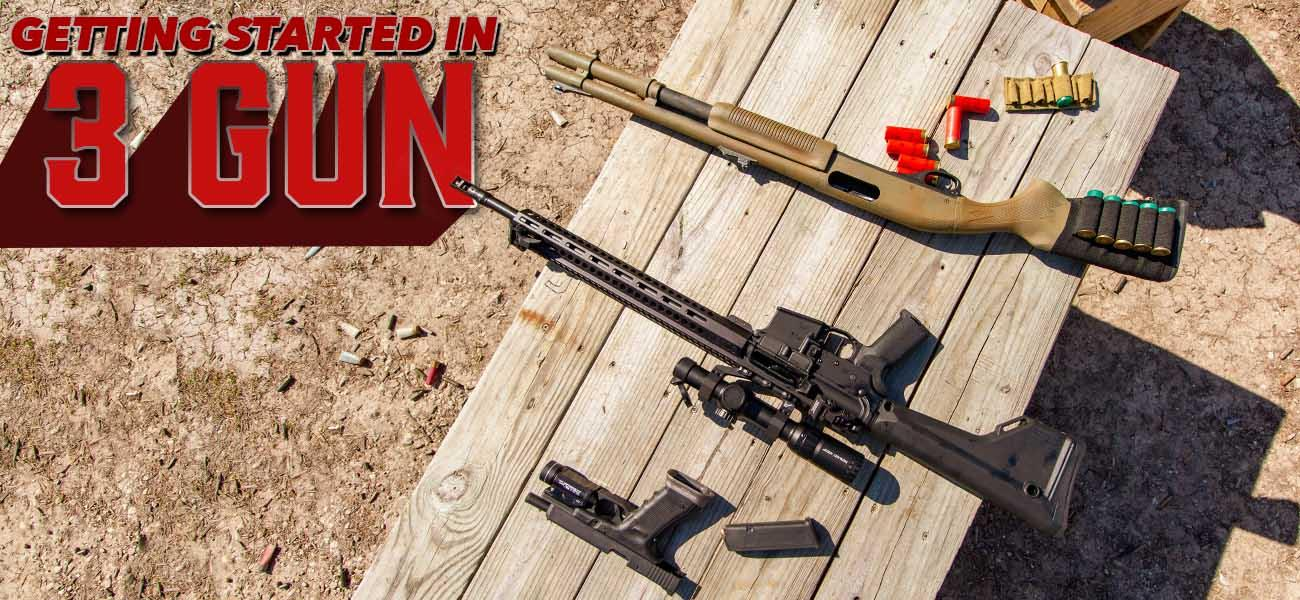 Getting Started in 3 Gun [Beginner's Guide]